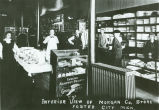 Interior View of Morgan Co. Store, Foster City Mich.