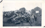 Wreck of No. 718